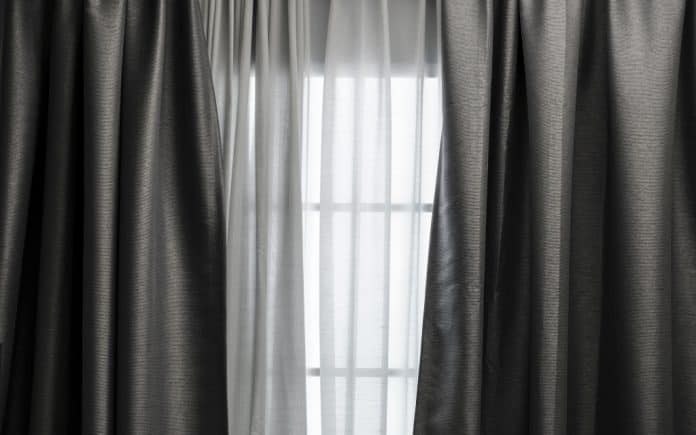 colour palette for grey curtains