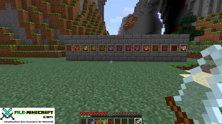 Glass Shards Mod for Minecraft