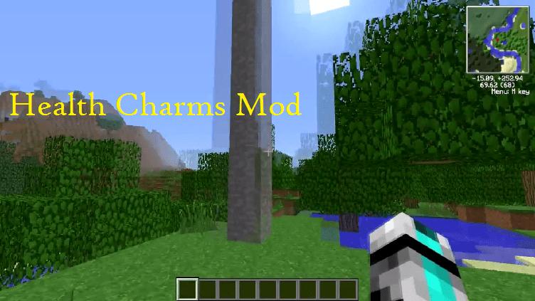 Health Charms Mod