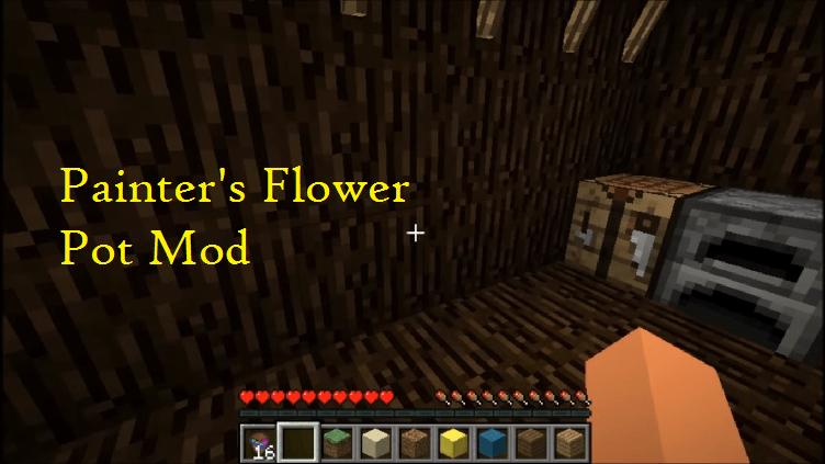 Painter's Flower Pot Mod