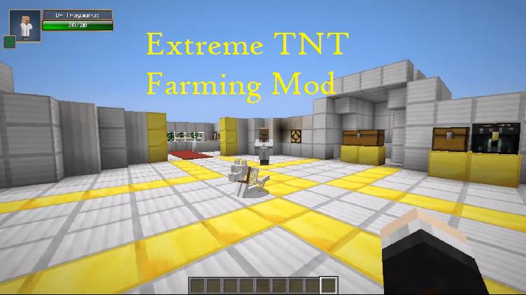 Extreme TNT Farming Mod