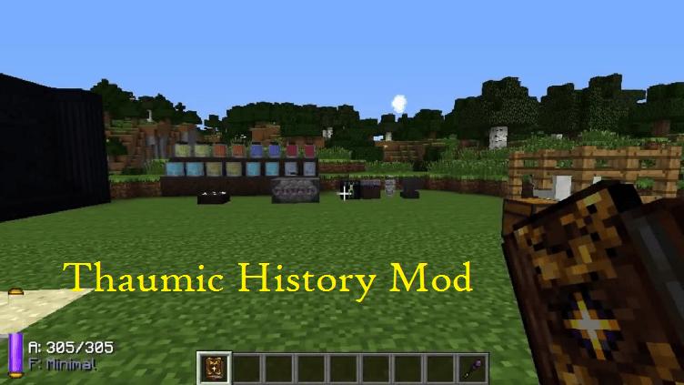 Thaumic History Mod
