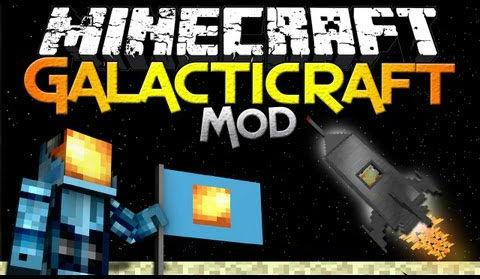 Galacticraft Mod  1.15.2|1.12.2 (Space ship,Rocket Mod)