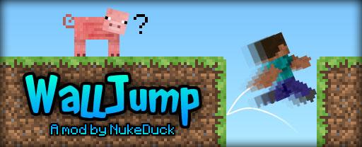Wall Jump Mod 1.10.2|1.9.4|1.8
