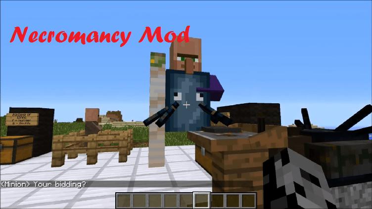Necromancy Mod  1.7.10