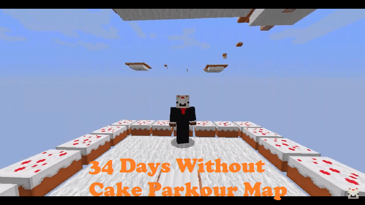 Download 34 Days Without Cake Parkour Map