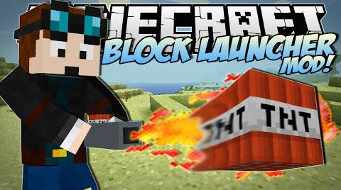 Block Launcher Mod 1.11.2|1.10.2|1.8.9