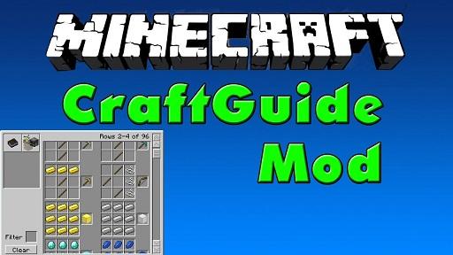 CraftGuide Mod 1.11.2|1.10.2 (Crafting Recipe Instruction)