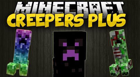 Creepers Plus Mod