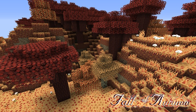 Fall of autumn resource pack