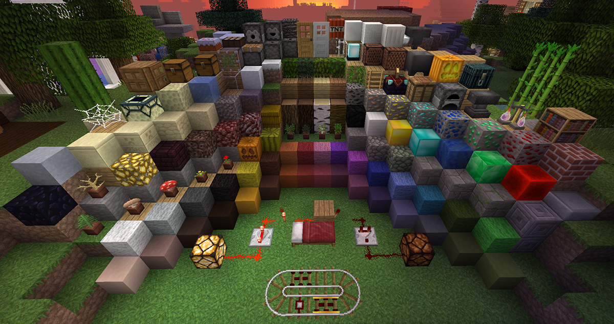 Lithos Core – 3D Resource Pack 1.8.8