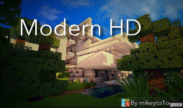 New modern hd resource pack