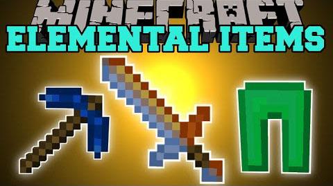 Elemental Items Mod 1.10.2|1.9.4|1.8.9