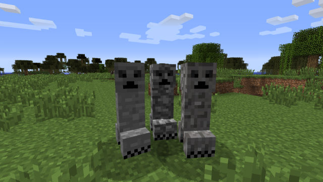 Material Creepers Mod