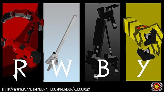 RWBY Craft Mod