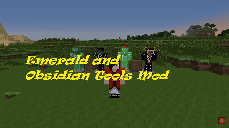 Emerald and Obsidian Tools Mod