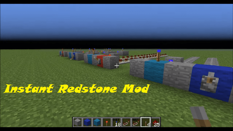Instant Redstone Mod