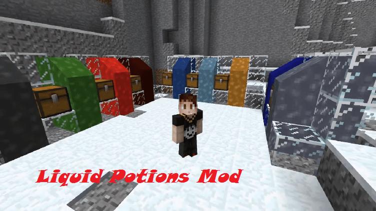 Liquid Potions Mod