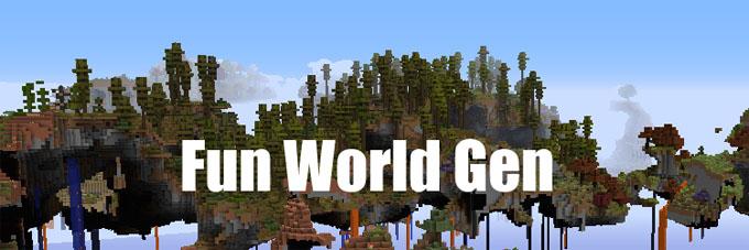 Fun World Generation Mod