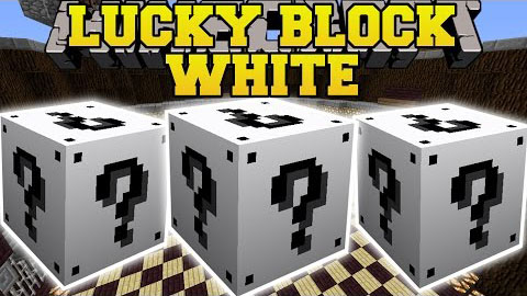 Lucky Block White Mod 1.16.2|1.15.2