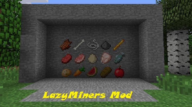 LazyMiners Mod