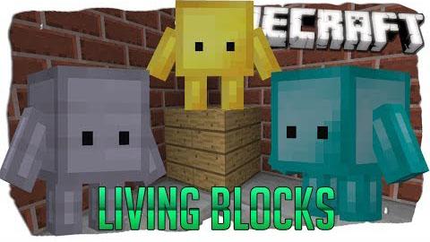 Blokkit Mod 1.8 (Cute Living Block Mobs)