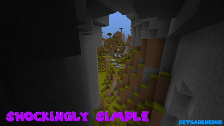 Shockingly Simple Resource Pack