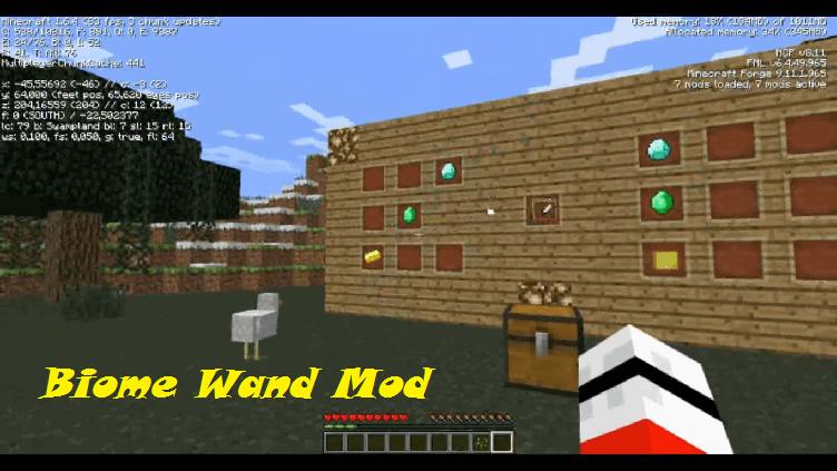 Biome Wand Mod