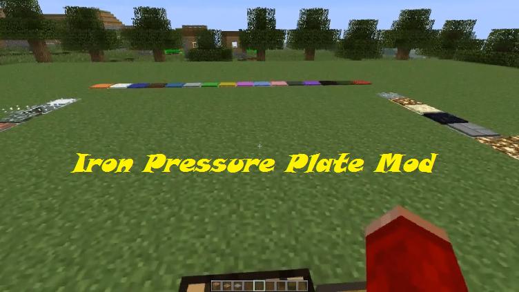 Iron Pressure Plate Mod 1.7.10|1.7.2