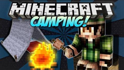 Camping Mod 1.15.2-1.15.2|1.12.2 (Tent, sleeping bag, nomadic life)