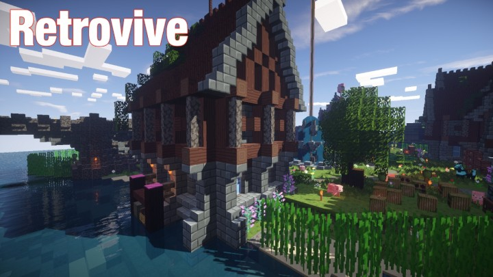 Retrovive resource pack