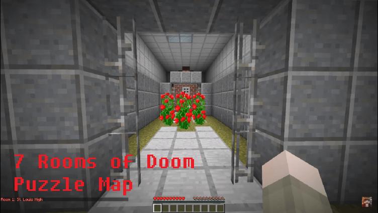 Download 7 Rooms of Doom Puzzle Map