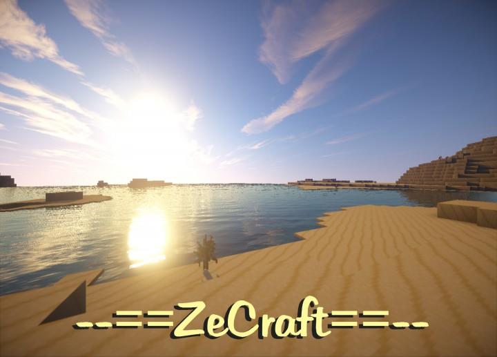 Zecraft resource pack