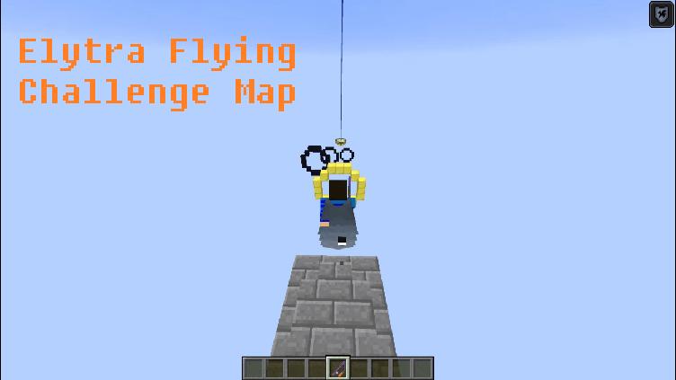 Download Elytra Flying Challenge Map