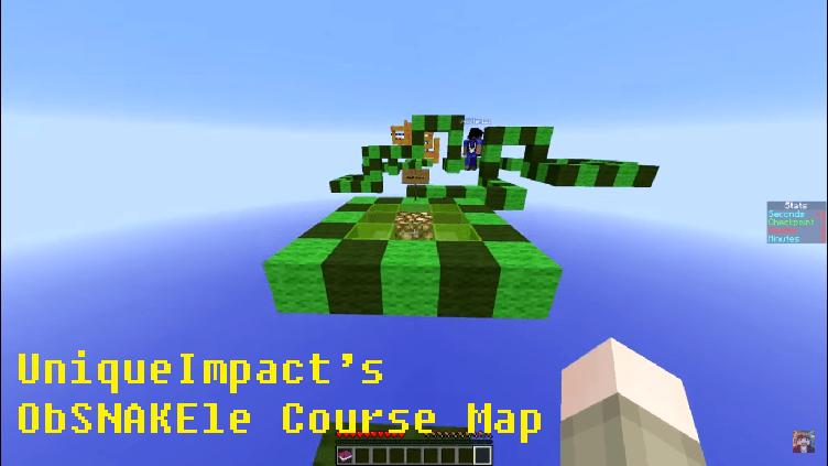 Download UniqueImpact's ObSNAKEle Course Map