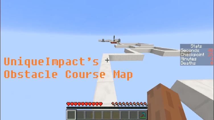 Download UniqueImpact's Obstacle Course Map