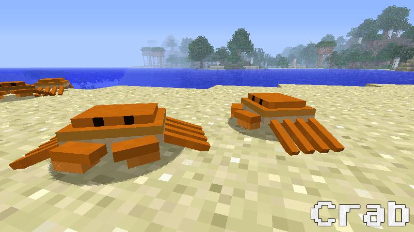 OceanCraft Mod Crab 1.8