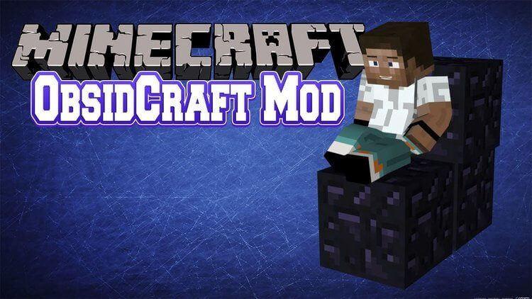 ObsidCraft Mod 1.10.2