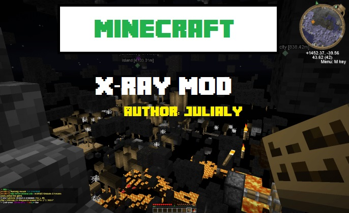 Julialy's X-Ray Mod 1.11.2 1.10.2 1.9.4 1.9