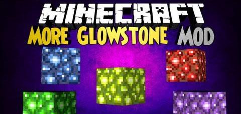 More Glowstone Mod