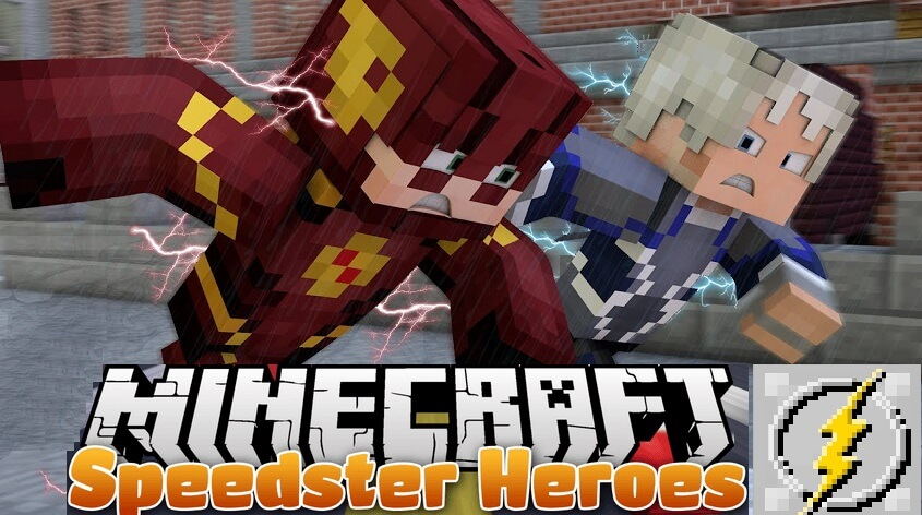 Speedster Heroes Mod 1.15.2 1.12.2