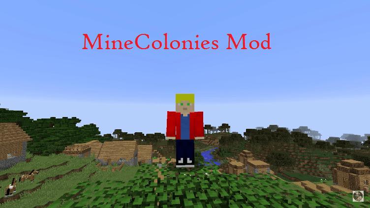 MineColonies Mod 1.15.2|1.12.2