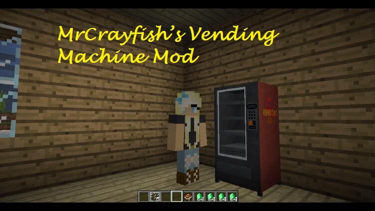 MrCrayfish's Vending Machine Mod 1.11.2