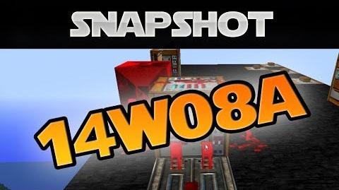 Minecraft Snapshot 14w08a