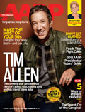 Tim Allen on the cover of AARP The Magazine