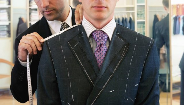 Image result for fitting tailored suit