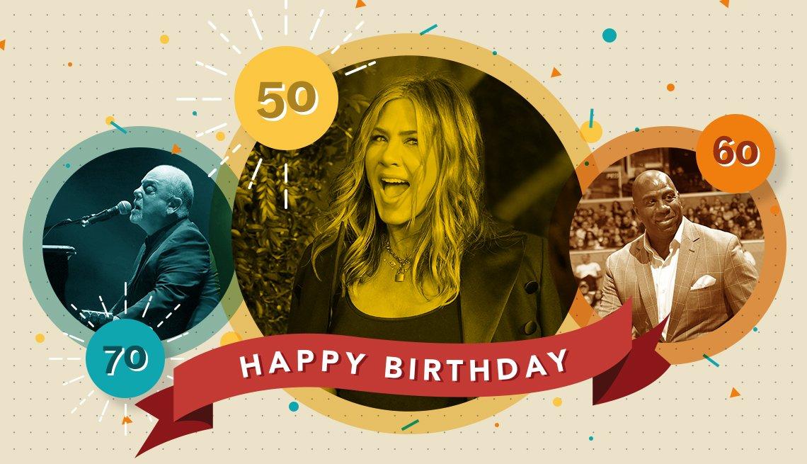 11 milestone celebrity birthdays in august