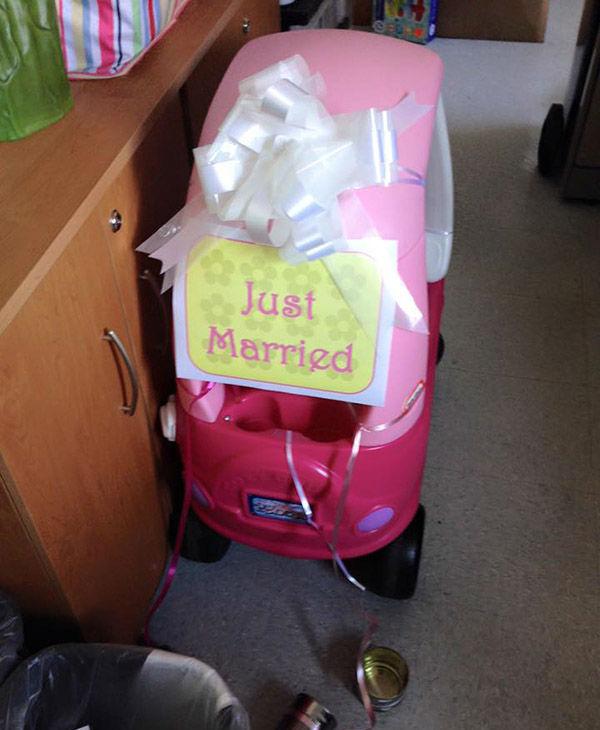 Abby's getaway car. <span class=meta>Lori Ciafardoni</span>