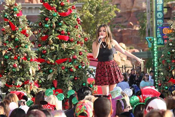 Disney Parks Frozen Christmas Celebration Films At