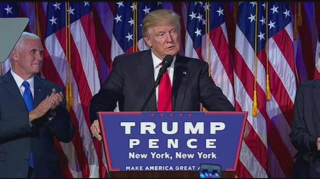 Image result for donald trump victory speech